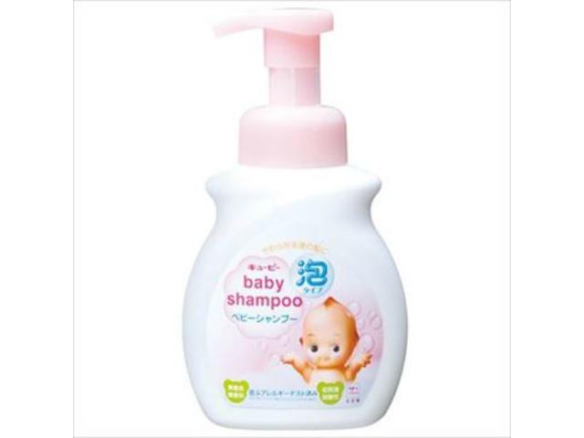 牛乳石鹸共進社 キューピーベビーシャンプー泡ポンプ付 350ml x1